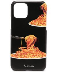Paul Smith Spaghetti Iphone 11 ケース - ブラック