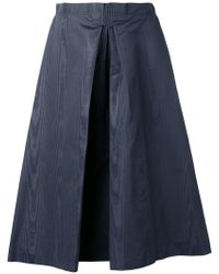 Nina Ricci - Inverted Pleat Skirt - Lyst
