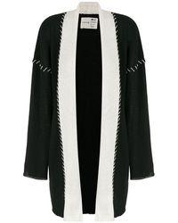 Osklen Stitched Knit Cardigan - Black