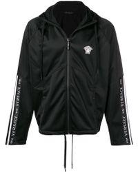 Versace Куртка 'medusa' На Молнии - Черный