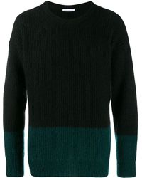 Societe Anonyme Ribbed Jumper - Green