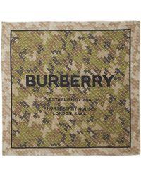 Burberry - Horseferry シルクスカーフ - Lyst