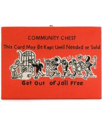 Olympia Le-Tan - Community Chest クラッチバッグ - Lyst