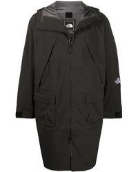 The North Face Hooded Rain Coat - Black