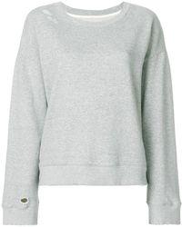 RTA - Distressed Sweatshirt - Lyst