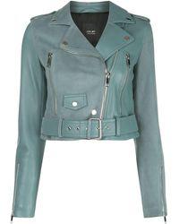 LTH JKT Mya Cropped Jacket - Blue