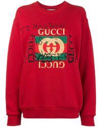 Gucci Coco Capitán Sweatshirt - Red