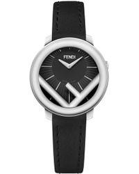 Fendi F Logo Watch - Black