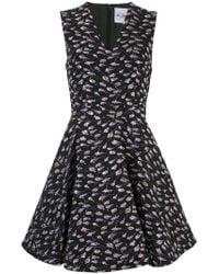 Si-jay - V-neck Floral Dress - Lyst