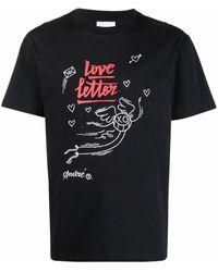 Soulland Colin グラフィック Tシャツ - ブラック