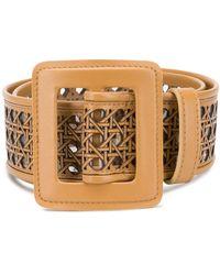 Vivetta Cutout Belt - Brown