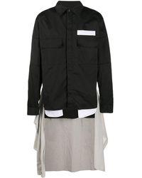Ambush Waist-tie Shirt - Black