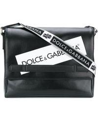 Dolce & Gabbana - Logopaneel Messengerbag - Lyst