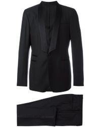 Ferragamo Two-piece Applique Detail Suit - Black