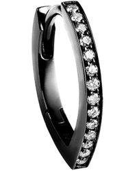 Repossi Anneau Antifer en or noir 18ct et diamants
