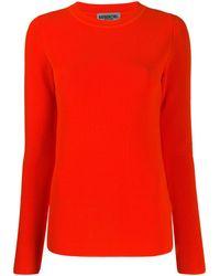 Essentiel Antwerp Ribbed Knit Jumper - Orange