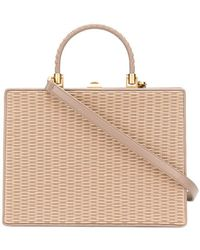 Rodo - Woven Front Tote - Lyst