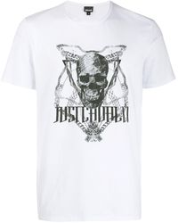 Just Cavalli - スカル Tシャツ - Lyst
