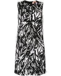 N°21 - ゼブラ ドレス - Lyst