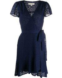 MICHAEL Michael Kors - Floral Lace Dress - Lyst