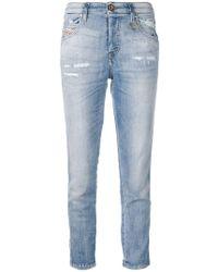 DIESEL - Schmale 'Babhila' Jeans - Lyst