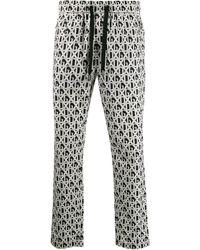 Dolce & Gabbana Брюки С Логотипом - Черный