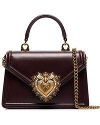 Dolce & Gabbana Devotion ショルダーバッグ S - レッド