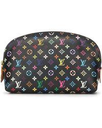 Louis Vuitton Косметичка Pochette 2014-го Года С Монограммой - Многоцветный