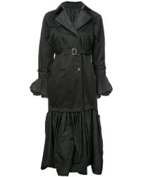 Noir Jewelry - Gothic Style Trench Coat - Lyst
