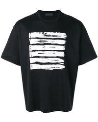 Diesel Black Gold - 'Teorial-Scrapehybrid' T-Shirt - Lyst