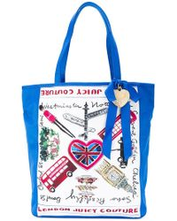 Juicy Couture - London Print Shopper Tote - Lyst