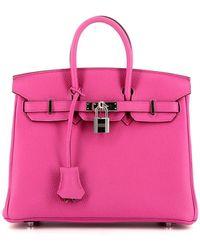 Hermès Borsa tote Birkin Pre-owned 2018 - Rosa