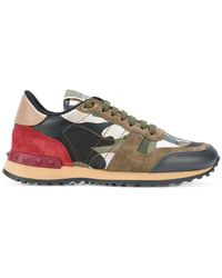 Valentino   Camouflage Trainers   Lyst
