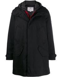 Woolrich Hooded Duffle Coat - Black