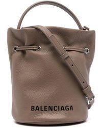 Balenciaga エブリデイ バケットバッグ Xs - ブラウン