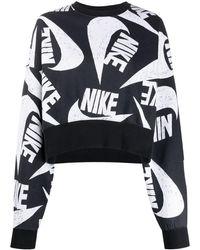 Nike ロゴ スウェットシャツ - ブラック
