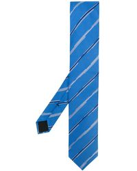 BOSS by Hugo Boss - Striped Silk Tie - Lyst