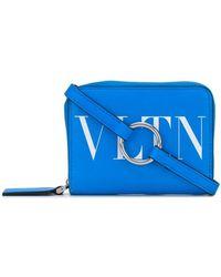 Valentino Vltn Portemonnee - Blauw