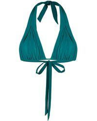 Carine Gilson - Haut de bikini à détail de nœud - Lyst