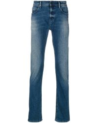 7 For All Mankind - Jeans Slim - Lyst