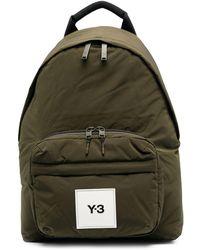 Y-3 ロゴパッチ バックパック - グリーン