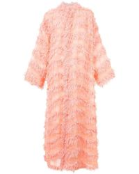 Tsumori Chisato - Long Frayed Kimono - Lyst