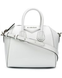 8c6824158b Givenchy - Bb500jb05m 100 White Leather fur exotic Skins- leather - Lyst
