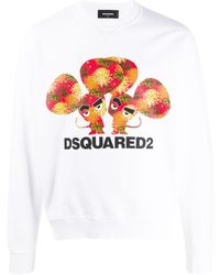 DSquared² Свитер С Логотипом - Белый