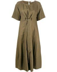Societe Anonyme Midi Shift Dress - Green