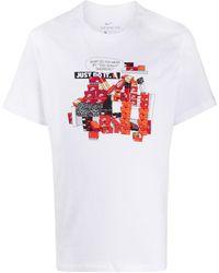 Nike T-shirt imprimé Sneaker Culture - Blanc
