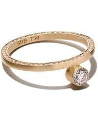 Sophie Bille Brahe - 18kt Yellow Gold Grand Yeux Diamond Ring - Lyst