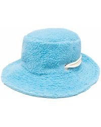 Khrisjoy Puff Bucket Hat - Blue