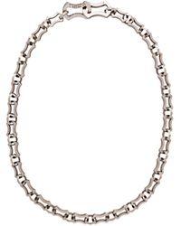 Prada - Strukturierte Halskette - Lyst