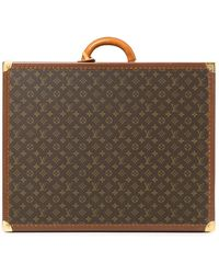 Louis Vuitton Pre-owned Alzer 65 Monogram Trunk - Brown